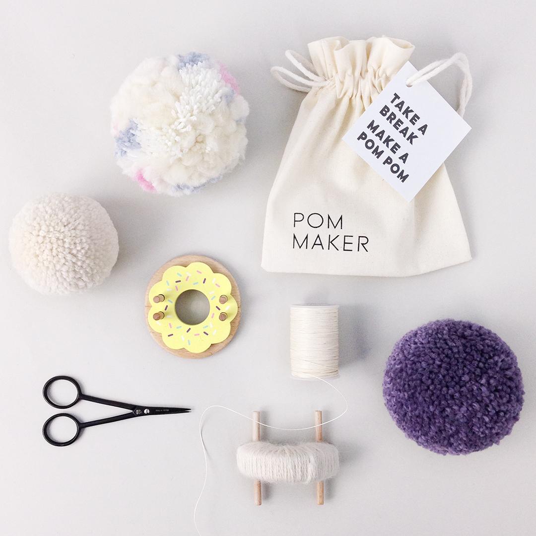 boye pom pom maker instructions