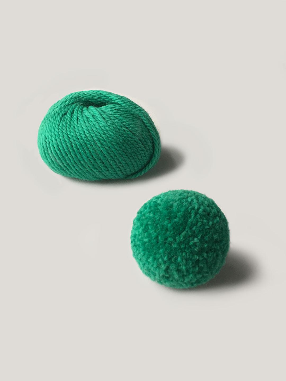 Roma Super Chunky 20 Jade Pom Maker